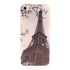 TOPQQ Eiffel Tower Design PC Hard Case for iPhone 5/5S