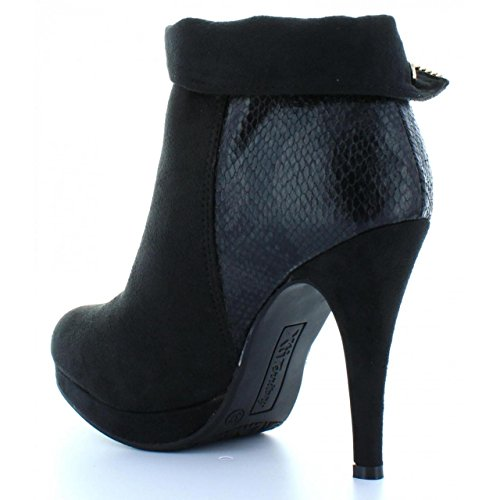 Stiefel für Damen XTI 28450 COMBINADA NEGRO
