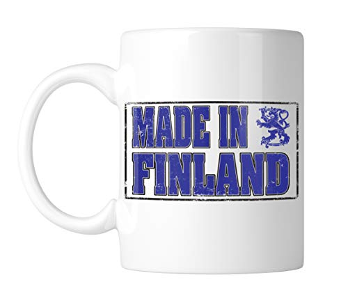 Amdesco Made in Finland 11 Oz White Coffee Mug (1 ()