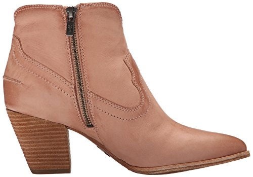 72065 Rose FRYE Dusty Oiled para Renee Botas de corto mujer Soft dobladillo de Leather RR6gwO