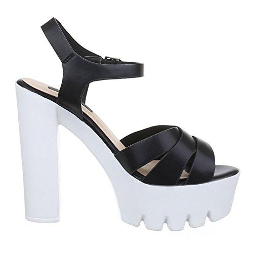 Ital-Design - Sandalias / Sandalias Mujer Negro - negro