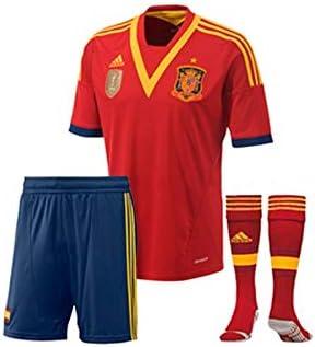 adidas Conjunto Jr España 13-14 Rojo Talla 176: Amazon.es ...