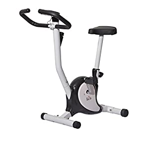 Homcom Fitnessbike Hometrainer Indoorsportbicycle Exercise Bike Fitness LED...