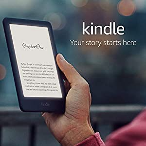 All-new Kindle | Now with a built-in front light—with Special Offers—Black