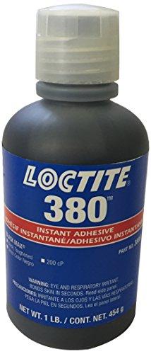Loctite 135424 Black Max 380 Cyanoacrylate Adhesive Liquid, 1 lb Bottle by Loctite