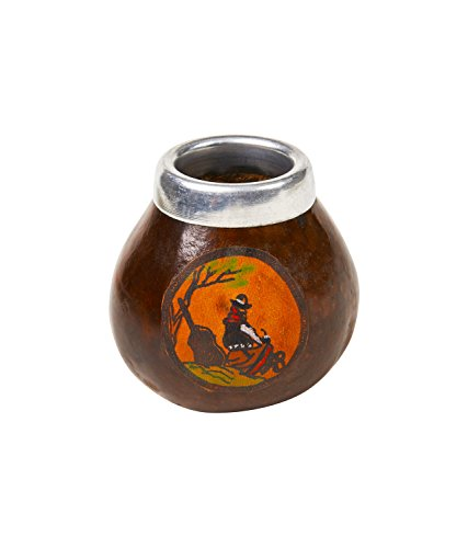 Yerba Mate Gourd Cup Brown product image