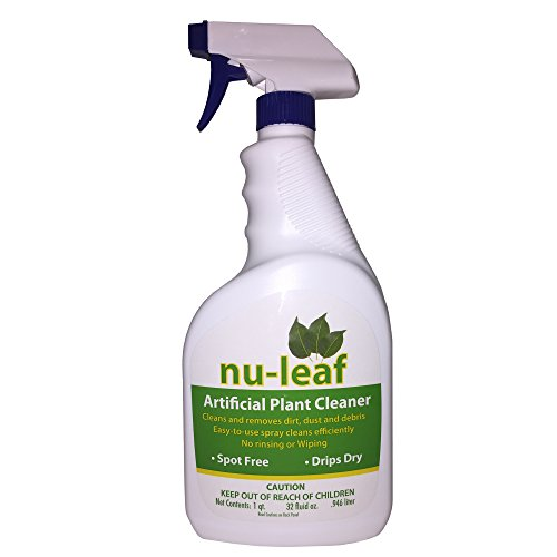 Nu leaf spray drip dry artificial tree and silk plant for Nu trend cleaners