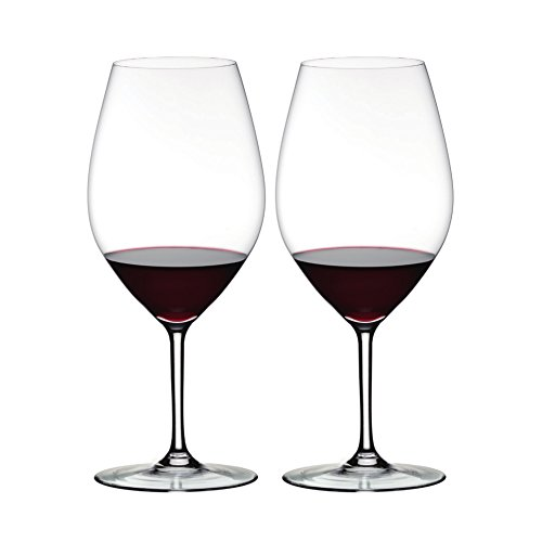Riedel Ouverture Fine Crystal 35 Ounce Double Magnum Oversized Wine Glass, Set of 2