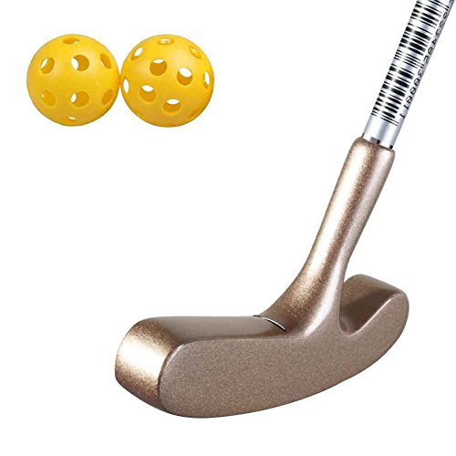 Two Way Blade Golf Putter Designs for 3 to 5 Years Old Kids,Comes With 2 Plastic Practice Balls