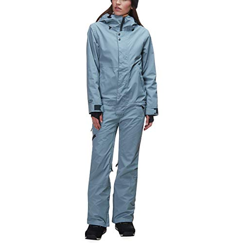Airblaster Snowboard - AIRBLASTER Women's Outerwear One Piece Sassy Beast Suit, Storm Blue, X-Small