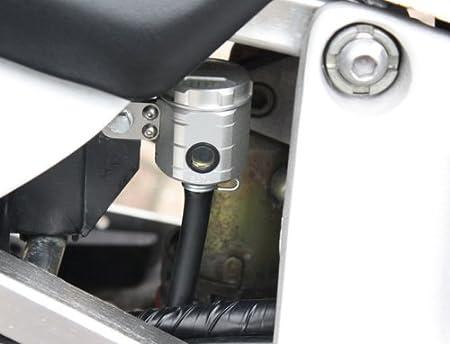 Gsg Moto Bremsbehälter Silber Hi Passend Für Die Honda Cbr 900 Rr Sc28 Sc33 1992 1999 Abe Auto