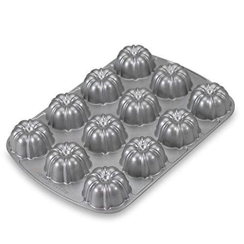 Nordic Ware - Food Service 52057W Aluminum 12 Cavity Bundt Cupcake Pan