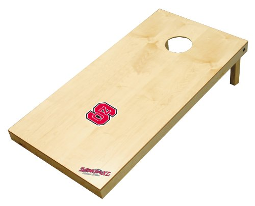 Wild Sports NCAA College North Carolina State Wolfpack 2' x 4' Authentic Cornhole Game Set