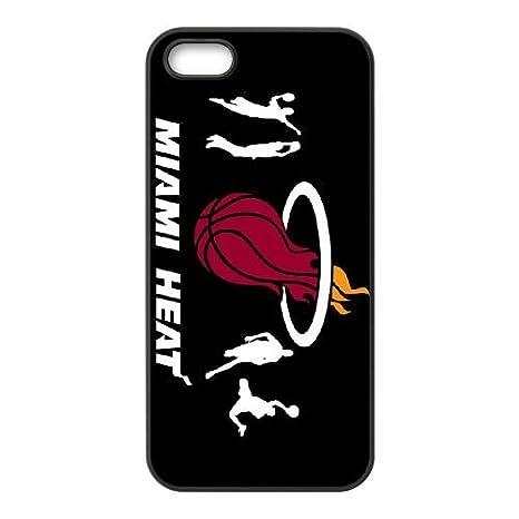 Miami Heat Wallpaper 02 Cover IPhone 4 4S Caso Di Telefono Cellulare Della Copertura