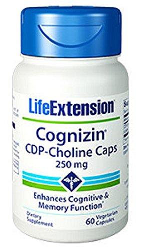 Life Extension Cognizin CDP-Choline Caps 250mg, 60 Vegetarian Capsules