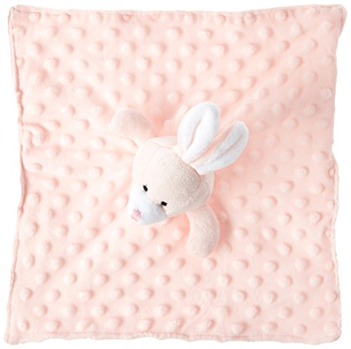 Elegant Baby Soft Animal Security Blankie, Pink Bunny ()