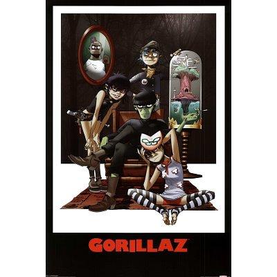 Gorillaz Family Portrait Music Poster Print