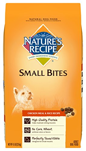 Nature' Recipe® Dog Food - Natural, Chicken Meal and Ric