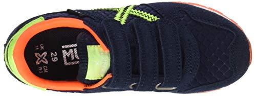 Azul Munich Marino Massana Basses VCO 285 Mixte Mini Amarillo Sneakers Bleu Enfant H8xZqSH