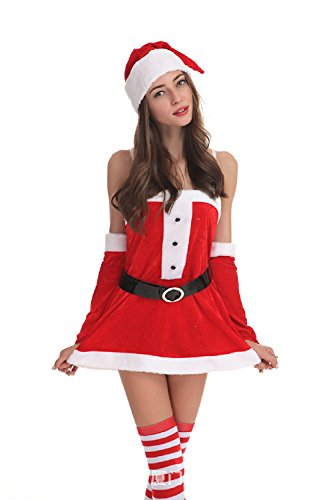 WeLove Siamese Christmas Costume Costume Santa Claus Show