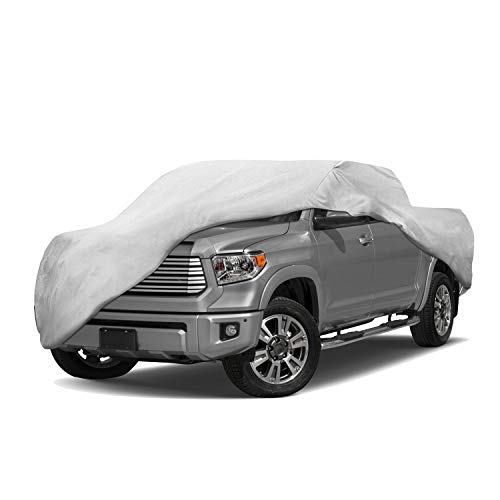 - Motor Trend T-800 Weatherproof for 2006-2019 Toyota Tundra Custom Fit Truck Cover (Outdoor Use UV Protection Waterproof)