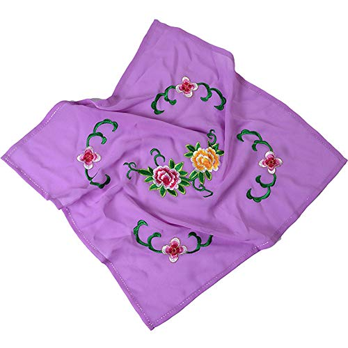 Handkerchiefs Embroidery Chinese (Dance handkerchief Embroidered Handkerchief Cheongsam Accessories [F])