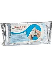 PonART Seramik Kil, Beyaz, 500 gr