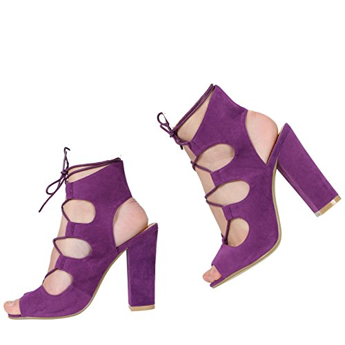 purple Morado Mujer Suede Collectiondoris Core Doris xqpAOz