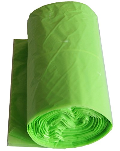 Wasabi Cleansing Green (Amatahouse Roll Garbage Trash Bags Apple Scented Quick Tie Green 18