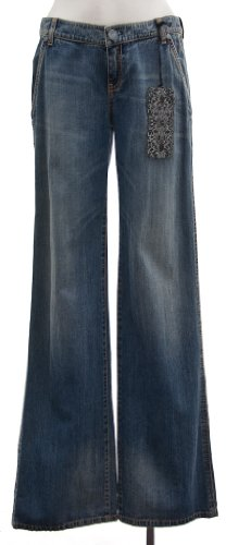 Elie Tahari Women's Effie Straight-Leg Jeans in Light Drift Wash (Blue) (0)