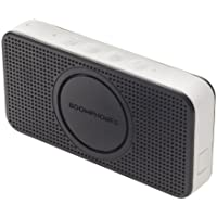 Boomphones Bluetooth Pocket Speaker for iPhones/Android (Black/White)