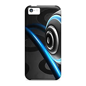 New Design Shatterproof Gnv1810SnfV Case For Iphone 5c (abstract Blue)