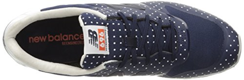 Running Navy WL696 Welded New Shoes Women's Balance IwYx7qO6