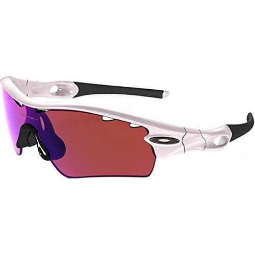 Oakley Mens Radar Path Asian Fit Sunglasses, Pearl White/G30 Iridium Vtd, One Size (Radar Path Sonnenbrillen)