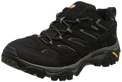 Merrell Women's Moab 2 GTX Hiking Shoe (11 B(M) US, Black) by Merrell