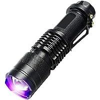 UV Ultra Violet LED Flashlight Blacklight Light 365 nM Inspection Lamp Torch