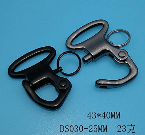 Buckes - Custom 1'' 25mm Inner Width QuickTactical Buckle Hook Ring 50 Pieces for Horse Rigging Hardware Accessories - (Color: Others Contact us)