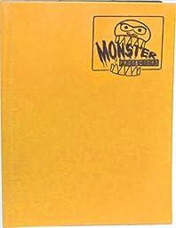 Monster Binders 9PSFO Binder 9 Pocket Monster - Sunflower Orange