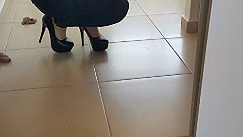 for Heels Good Black1 Shoes 7 Black2 Women Day High 1Znfqvw