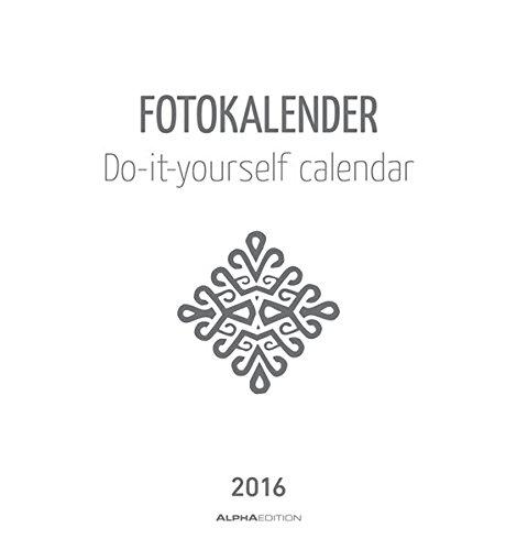 Foto bastelkalender 2016 wei datiert 9783840768132 amazon books solutioingenieria Image collections