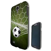 002608 - Sport Net Goal Football Soccer Net Design Samsung Galaxy S4 i9500 Fashion Trend CASE Gel Rubber Silicone All Edges Protection Case Cover