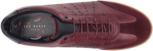 Ted Baker Mens Orlee Sneaker Rouge Foncé