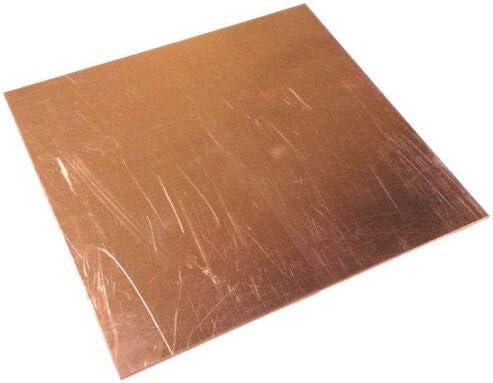 Copper Sheet Plate 4 x 12 .125 1//8