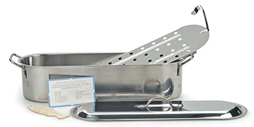 RSVP ST-20P Endurance Stainless Steel Fish Poacher, 20-inches by RSVP International (Image #3)