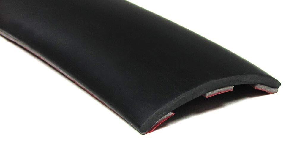 Tenzo-R 37437 T/ür Seiten Schutz Leisten Streifen zum kleben universal 1,5mx5cm schwarz