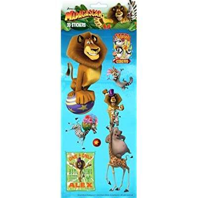Dreamworks Madagascar Stickers 3D 4001: Kitchen & Dining