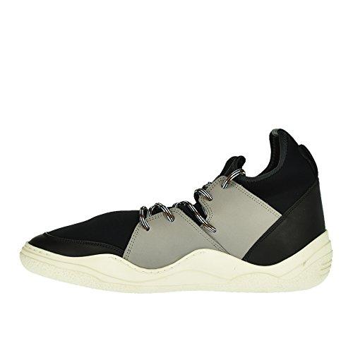 Lanvin Sneaker Nera in Pelle E Neoprene - 41 Eastbay Descuento oC2ud