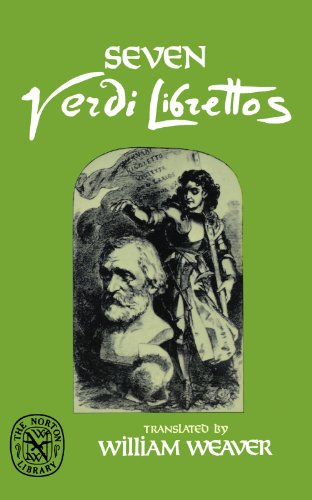 Seven Verdi Librettos (English and Italian Edition)