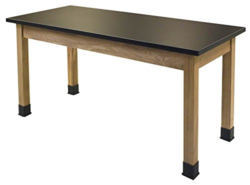 30 in. Chem-Res Top Science Lab Table by National Public Seating