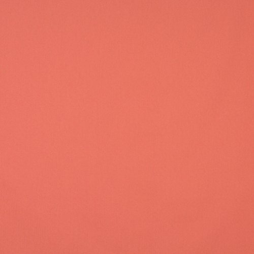 (J461 Coral Orange Solid Cotton Canvas Duck Preshrunk Upholstery Fabric by The Yard)